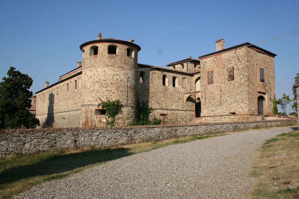 La rocca del castello di Agazzano